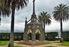 Akaroa Cenotaph, Nowa Zelandia zdjęcie royalty free