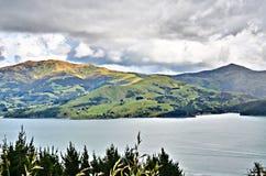 Akaroa Harbor Royalty Free Stock Photo