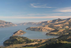 Akaroa harbour Royalty Free Stock Photography