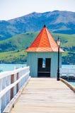 Akaroa, Neuseeland Stockbilder