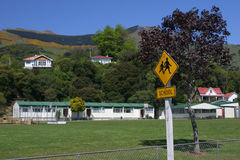 Akaroa School Royalty Free Stock Photography