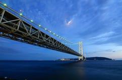 Akashi-Brücke Lizenzfreie Stockbilder