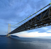 Akashi Bridge Royalty Free Stock Photography
