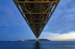 Akashi Bridge Stock Photography