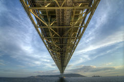 Akashi Bridge Royalty Free Stock Image