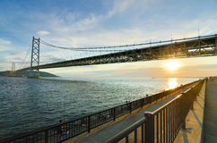 Akashi Bridge Royalty Free Stock Photos