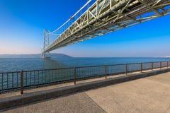 Akashi Bridge in Kobe, Japan Stock Photos