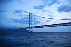Akashi Kaiky� Bridge 02 Royalty Free Stock Photography