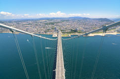 Akashi Kaikyo Bridge Stock Photos
