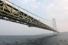 Akashi Kaikyo Bridge Stock Images
