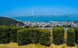 Akashi Kaikyo Bridge Stock Image