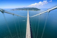 Akashi Kaikyo Bridge Stock Image