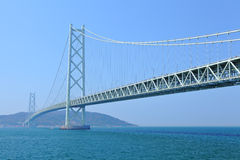 Akashi Kaikyo bridge Stock Photo
