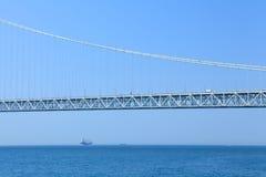 Akashi Kaikyo bridge Royalty Free Stock Photo