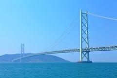 Akashi Kaikyo bridge in Japan Stock Photo