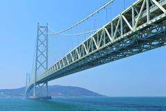Akashi Kaikyo bridge Royalty Free Stock Images