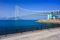 Akashi Kaikyo Bridge, Kobe, Japan Royalty Free Stock Image