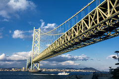 Akashi kaikyo bridge Royalty Free Stock Image