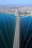 Akashi Kaikyo bridge viewing Kobe Stock Photography