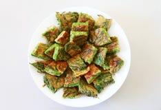 Akazien-Omelett Stockfoto