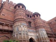 Akbar forntida fort av kejsaren Arkivbilder