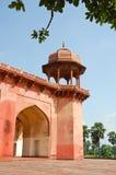 akbar india tomb Royaltyfri Foto