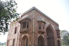 Akbar` s graf, Sikandara, Agra, India stock fotografie