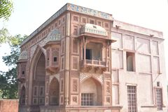 Akbar ` s grobowiec, Sikandara, Agra, India Fotografia Royalty Free