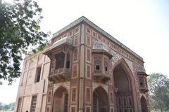 Akbar ` s grobowiec, Sikandara, Agra, India Fotografia Stock