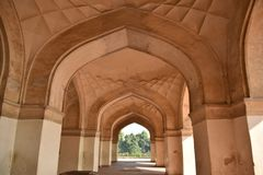 Akbar ` s grobowiec, Sikandara, Agra, India Obraz Royalty Free