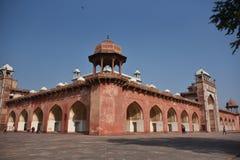 Akbar ` s grobowiec, Sikandara, Agra, India Zdjęcie Stock