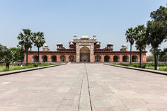 Akbar's tomb, Agra, India Royalty Free Stock Image