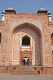 Akbar's Tomb at Sikandra Stock Images