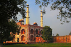 Akbar's tomb. Sikandra - The tomb of Mughal emperor Akbar Stock Image
