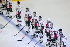 AKBarsteam op himn Royalty-vrije Stock Foto's