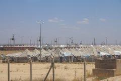 Akcakale叙利亚难民营 库存图片