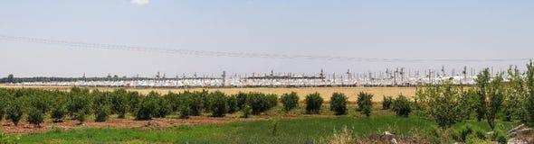Akcakale Syrian  refugee camp Royalty Free Stock Images