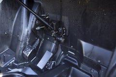 Akcelerator i hamulcowi następy Zdjęcie Stock