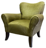 akcentuacyjna sage krzesło obrazy stock