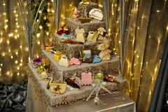 akcesoriów dekoraci wydarzenia ślub Fotografia Royalty Free