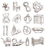 akcesoriów dzieci ilustracji
