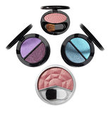 akcesoriów kosmetyków makeup Zdjęcia Stock