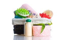 akcesoriów odosobnienia prysznic biel Zdjęcie Stock