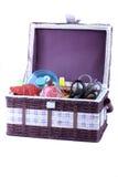 akcesoriów target909_0_ koszykowy Fotografia Stock