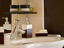 akcesoria łazienka Obrazy Stock