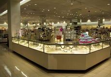 Akcesoria biżuterii wydziałowy sklep Obraz Stock