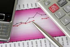 akcesoria biznesowi zdjęcie stock