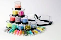 Akcesoria dla manicure gwoździ Obraz Royalty Free