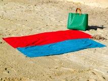 Akcesoria dla plaży zdjęcie stock