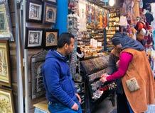 Akcesoria dla sprzedaży w Tunezja obraz royalty free